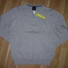 Pánský šedý svetr Reserved - foto č. 1