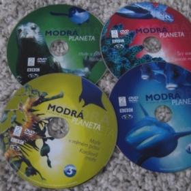 Dvd Modr� planeta 4 kusy