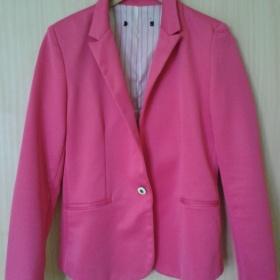 Sytě růžové sako Zara - foto č. 1
