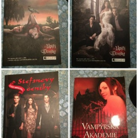 4 ks knihy d�v�� �etba The Vampire diaries