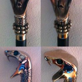 Vycházková hůl Luciuse Malfoye neznačková - foto č. 1