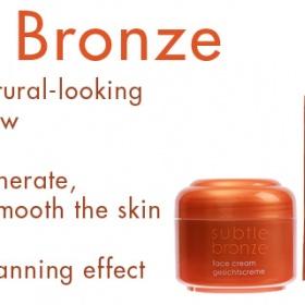 Kosmetika Ziaja - řada Subtle Bronze