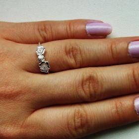 Stříbrný prsten neznačková - foto č. 1