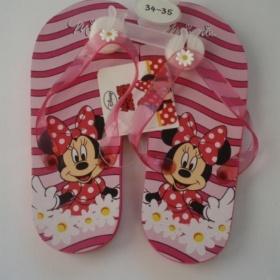 D�v�� �abky Disney Minnie - 28 - 34 nezna�kov�