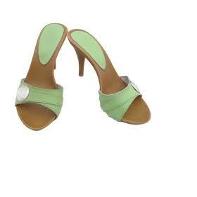 Pantoflíčky na podpatku