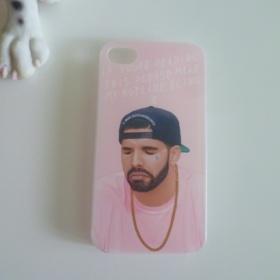 Růžový kryt Drake iPhone 4 - foto č. 1