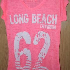 Růžové tričko (XS) Primark - foto č. 1