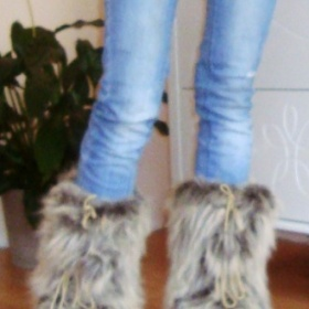 Zímní boty-chlupaté - foto č. 1