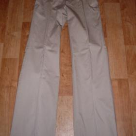 Béžové společenské kalhoty Reserved s puky - foto č. 1