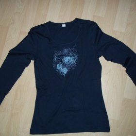 Tmavěmodré triko s dl. rukávem s.Oliver - foto č. 1