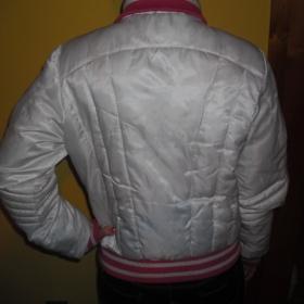 Bílo růžová teplá bunda z Terranovy - foto č. 1