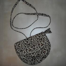 Mini hnědá leopardí kabelečka z Clockhouse - foto č. 1