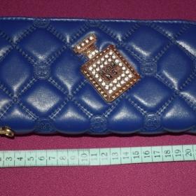 Modrá peněženka AliExpress