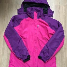Zimní bunda růžová Hi - tec