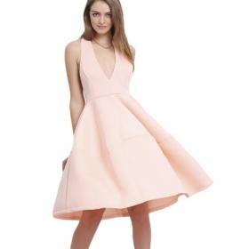 Ružové šaty - aký make up?