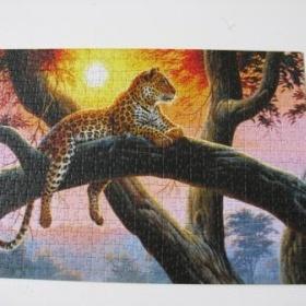 Puzzle Gepard