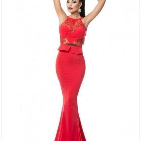 Červené šaty kde sehnat