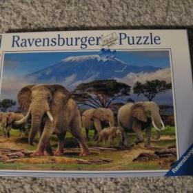 Puzzle Ravensburger - sloni