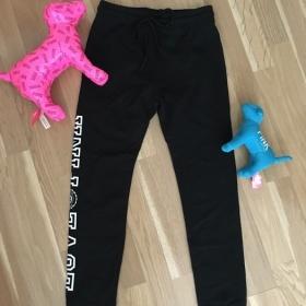 Černé kalhoty Victoria's Secret