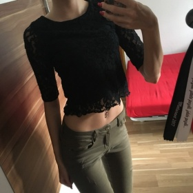 Černý top H&M