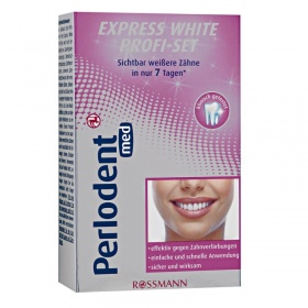 Perlodent med express white profi - set (sada na mělení zubů)