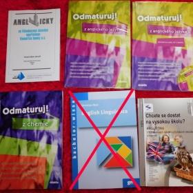 Učebnice knihy angličtina němčina AJ NJ Chemie
