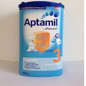 Aptamil milk, Nutella, Twix, Mars, kinder joy neznačková