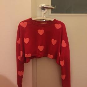 Zkrácená mikina (Cropped sweatshirt) neznačková