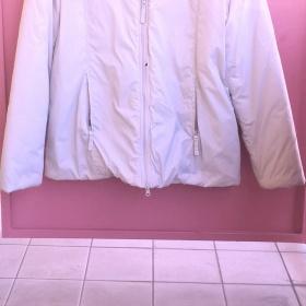 Krémově bílá zimní bunda Cherokee