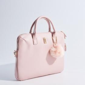 Pudrově růžová taška na notebook Mohito