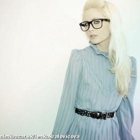 Brýle Wayfarer čiré - foto č. 1