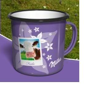 Koupím plecháček Milka kravičky - foto č. 1