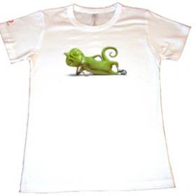 Tri�ko od Vodafone s chameleonem - foto �. 1
