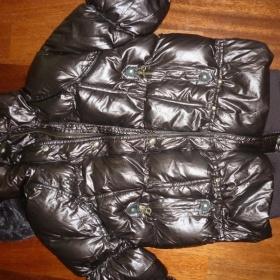 Dámská zimní hnědá bunda - foto č. 1