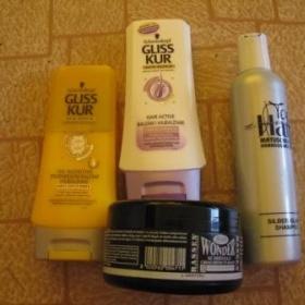 Vlasová kosmetika Gestil, Matuschka a Gliss Kur - foto č. 1