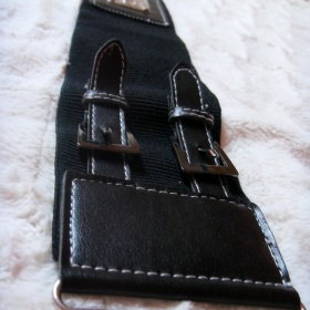 Černý pásek do pasu - foto č. 1