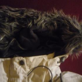 Bílá zimní bunda zn. Husky - foto č. 1