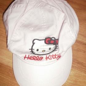 Růžová kšiltovka pro slečnu Hello Kitty HaM - foto č. 1