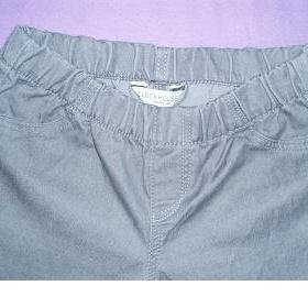 Šedé skinny jeans/riflové leginy Clockhouse - foto č. 1