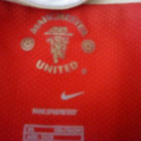 Červené tričko Manchester United - foto č. 1