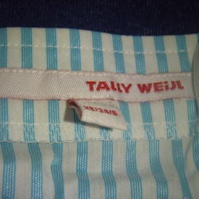 Bílo modrá košilka Tally Weijl - foto č. 1
