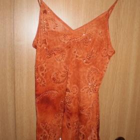Oranžový top Orsay - foto č. 1